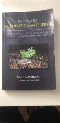 Book - Sounders FC New York, 10010