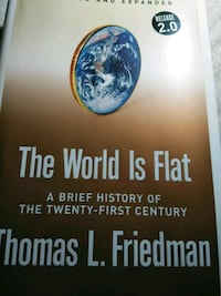 The World is Flat a brief history of the 21st cent Chelmsford, 01863