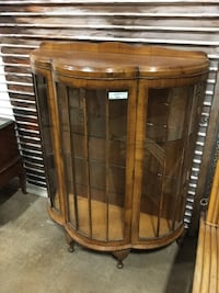 Antique Display Cabinet w/ Glass Shelves  Asheville, 28803