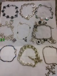 Beautiful assorted bracelets