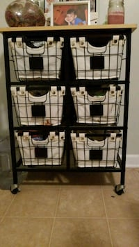 rolling basket holder for kitchen Moncks Corner, 29461