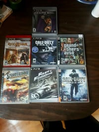six assorted PS3 game cases Dartmouth, B2W
