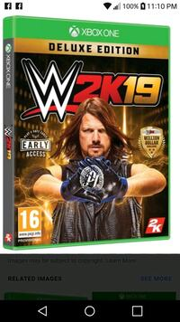 2 days old wwe2k19 for xbox one  Albany, 31705