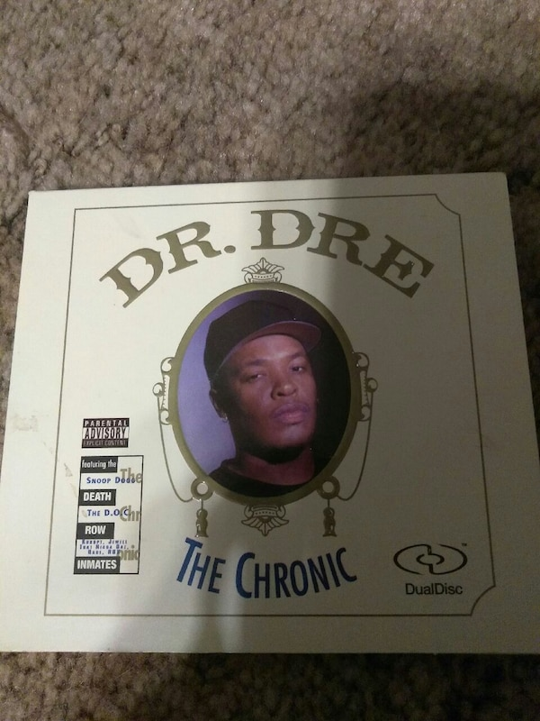 Dr. Dre The Chronic CD case