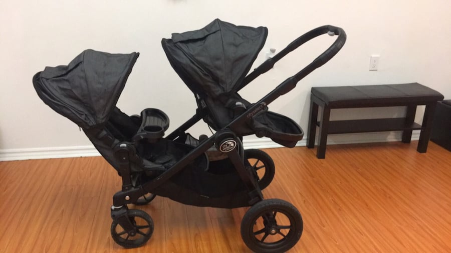 Baby Jogger City Select Deluxe Double Stroller -Charcoal 013a1b44-5c81-4928-9016-26c90ecb0308
