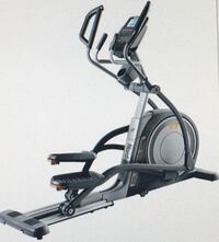 Gray and black norditrack elliptical trainer Toronto, M6M 3Y7