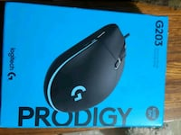 black and blue Logitech wireless mouse box Vancouver, V5N 2S7