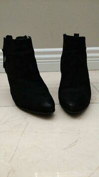 Steve Madden Leather Booties Size 10