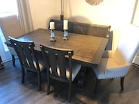 Beautiful 5 Piece Dining Room Set (WITH BENCH) *Still under warranty* Suitland, 20746