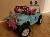 Power Wheels Frozen Jeep Buda, 78610