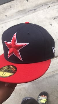 black and red Superman fitted cap Eastvale, 91752