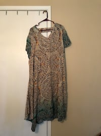 women's black and brown floral dress Citrus Heights, 95621