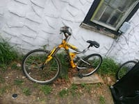 yellow and black full suspension mountain bike Wall Township