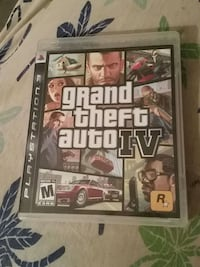 Grand Theft Auto IV PS3 game case Hollins, 24019