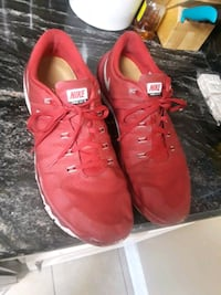 Pair Of Red Nikes Semmes, 36575
