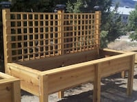Custom gardening boxes any shape and size San Diego, 92126