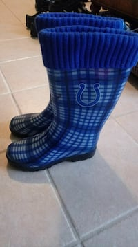 Size 9 colts rain boots Indianapolis, 46237