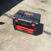 black and red Craftsman tool box Los Angeles, 90011