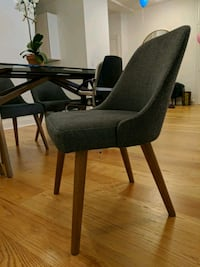 West elm, mid century upholstered dining chair New York, 10024