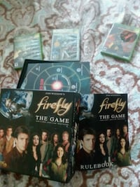 Firefly board game good cond. 3 xbox games, halo,  Olympia, 98512