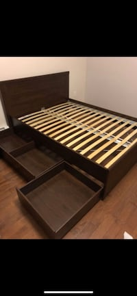 IKEA Brusali bed frame other storage  Mississauga