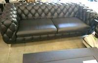 100% leather modern style chesterfield sofa Sandy Springs