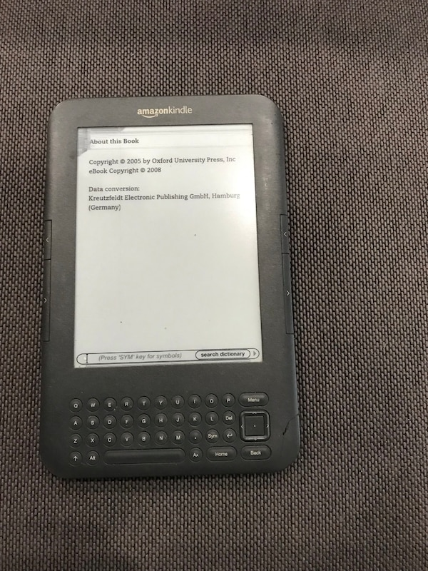 Kindle keyboard d00901