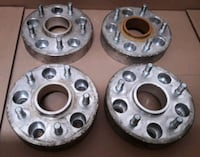 1.5 thick wheel spacers 5x127. Fit Jeeps n trucks Federalsburg, 21632
