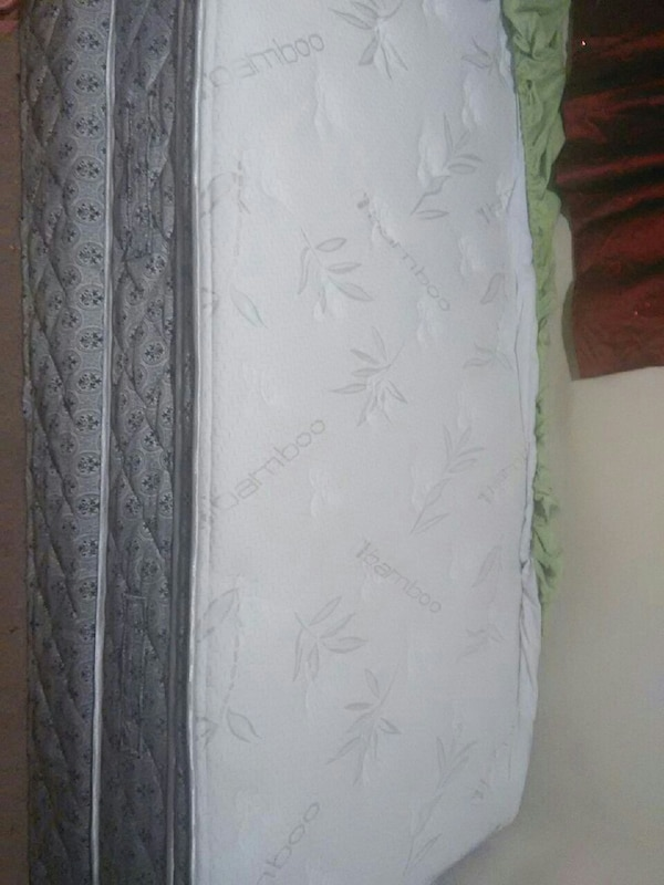 Two Brand New Mattresses and box spring 78a076ca-ca94-48ff-ae0a-10f81717940c