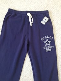 Dallas Cowboys official Fleece Sweat pants.  Brand New with NFL tags.  Two left in size 2XL. $28cash or $30 via Paypal. Bradenton