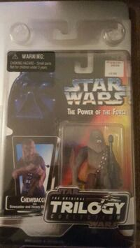 Star Wars Chewbacca action figure with packj