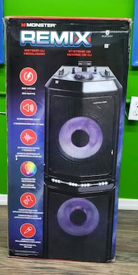 Monster Remix Bluetooth Speaker With Wireless Micr The Bronx, 10451