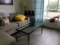 glass iron coffee table Vancouver, 98660