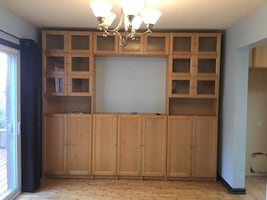Beautiful IKEA display cabinet