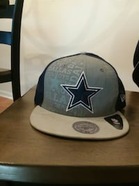 black and gray Dallas Cowboys fitted cap Jackson, 08527