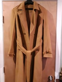 Custom-Made Cashmere Wool Trench Coat