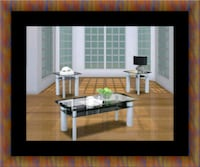 3pc glass coffee table Woodbridge, 22191