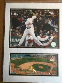 "RED SOX Big Papi""s last home run in fenway park. STOUGHTON"