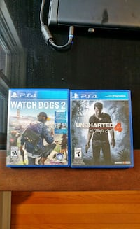 Uncharted 4/Watchdogs 2 Package Deal Burlington, L7P 0K2