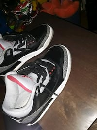 OG Jordan Black Cement 3s Size 9.5 Great Deal Washington, 20019