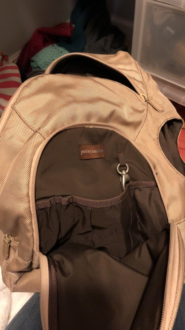 Pottery barn baby backpack