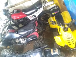 Two four wheelers $800