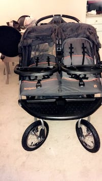 Stroller for 2 babys also have mp3 its new never used we just buy it but we don't likeit because to big  Alexandria, 22312