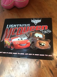 Lightning McQueen and Mater Tin Sign