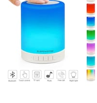 Brand new Smart Touch Night Light with Bluetooth Music