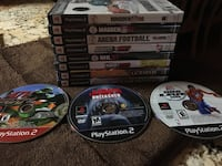8 sony ps3 game discs Seffner, 33584