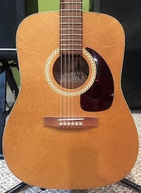 Art and Lutherie by Godin Wild Cherry Acoustic Guitar Windham