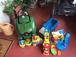 Toys need to down size number of toys .All toys very clean
