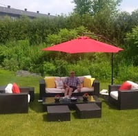 Outdoor Patio Set  Pointe-des-Cascades