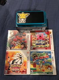Nintendo 2DS XL with 5 Hit Games Los Angeles, 90045